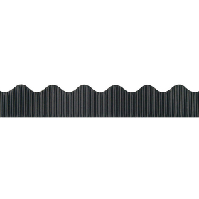 Pacon PAC37306 Bordette 2 1/4 X 50Ft Black, Price/EA