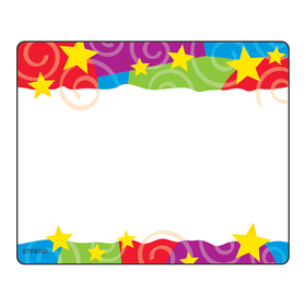 Trend Enterprises T-68070 Stars N Swirls Name Tags, Price/EA