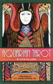 AzureGreen Aquarian Tarot by Palladini, David