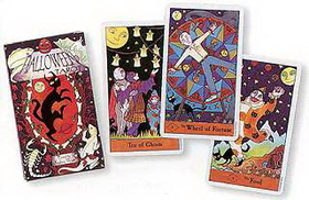 AzureGreen Halloween Tarot by  West, Kipling
