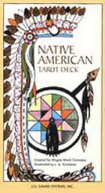 AzureGreen Native American Tarot deck by Gonzalez, Magda Weck