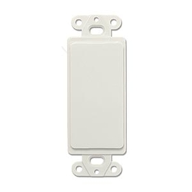 Generic 1800519 Decora Blank Insert , White
