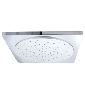 "Kingston Brass KX8221 12"" Square Shower Head, Chrome"