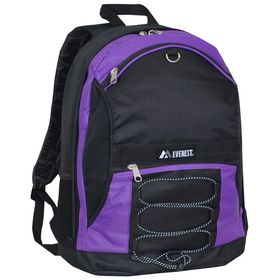 Everest 3045SH Two-tone Backpack w/Dual Mesh Pockets
