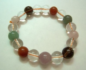 Feng Shui Import Multi Color Crystal Bracelets - 763