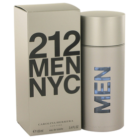 212 by Carolina Herrera - Eau De Toilette Spray (New Packaging) 3.4 oz for Men