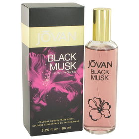 Jovan Black Musk by Jovan - Cologne Concentrate Spray 3.25 oz for Women