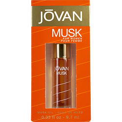 Jovan Musk By Jovan - Perfume Oil .33 Oz For Women