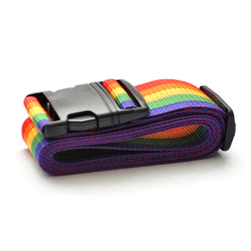 Rainbow Color Luggage Straps, Travel Accessories, Price/2 Packs
