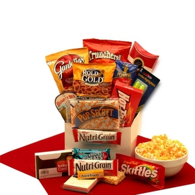 Study Snacks Care Package, Gift Basket