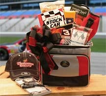 And The Race Is On Nascar Lovers Chest , Medium, Gift Basket