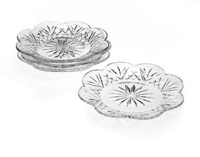 Godinger 028199257654 Dublin Canape Plates - Set of 4, Price/set