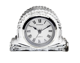 Godinger 028199026687 Small Crystal European Mantle Clock, Price/each