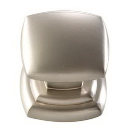Belwith Knob Square 1-1/4In Stainless Steel, Price/EA