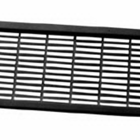 2-7/16inx8-11/16in Grill BLACK , Price/EA