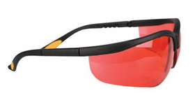 Safety Glasses 510 Series RED, Price/EA