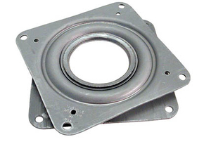 3in Square Bearing For Lazy Susan    , Price/EA