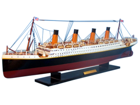 Handcrafted Model Ships RMS Titanic 32""