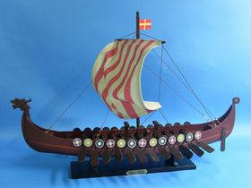 "FREE SHIPPING! Handcrafted Model Ships Viking Drakkar 24"" ONLY $97.49 by Opentip.com"