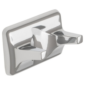 Harney Hardware 12502 Double Robe Hook, Sea Breeze Bath Collection, Bright Chrome, Price/each