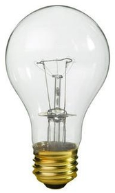 IEC ADP0106 Light Bulb for E26 socket 120V 25 W Incandescent clear
