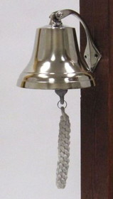 India Overseas Trading AL18440 Aluminum Ship Bell