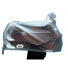 Saddle Cover Western Clear Vinyl