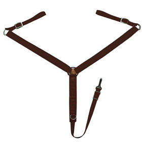 Breastplate Comfort Plus Draft Horse Brown