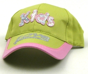IWGAC 0126-2350 Green Kids Cap