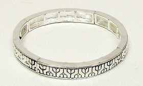 IWGAC 015-1246 Stackable Stretch Bangle Y Design
