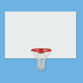 Jaypro Rectangular Steel Basketball Backboard, Price/each