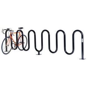 Jaypro Perm PC Wave Bike Rack - 9 Capacity, Price/each