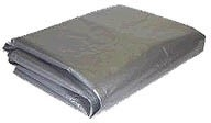 10 Ft. x 20 Ft.  Silver Poly Tarp