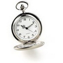 JDS Personalized High Polish Pocket Watch