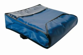 "Johnson-Rose Pizza Delivery Bag, 18"" X 18"" X 5"", Insulated, Blue, 30961, Price/EA"