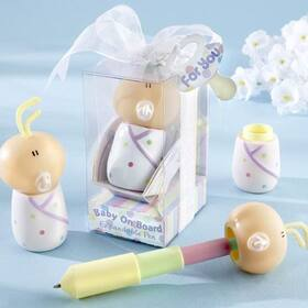 "Kate Aspen ""Baby On Board"" Expandable Pen in Car Seat Packaging"