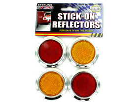 Stick-on reflectors, Price/package