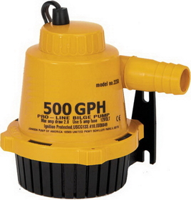 Mayfair 750GPH PROLINE BILGE PUMP 22702 (Image for Reference), Price/Each
