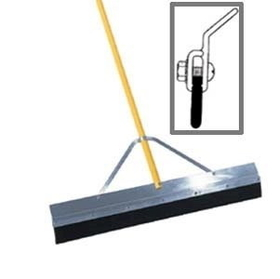 "Midwest Rake 76183 36"" 3"" Round Edge Tapered Seal Coat Squeegee, 82"" OS Yellow Aluminum Handles,Framing & Decking Tools,Hand Tools, Price/each"