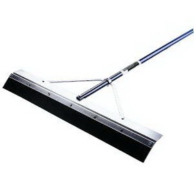 Midwest Rake 76924 24&quot; General Purpose Squeegee, 66&quot; Blue Aluminum Handles, Price/each