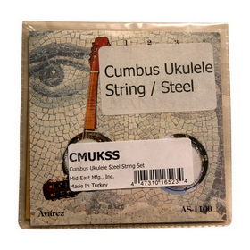 Mid-East Cumbus Ukulele Steel String Set