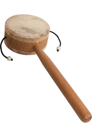 DOBANI Monkey Drum with Handle, 3.25""