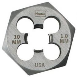 Hanson 9736 9mm-1.00mm Die 1 Hex-Cd, Price/EACH