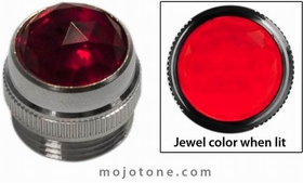 1/2'' Lens Assembly (Red Jewel)