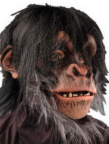 Morris Costumes 60-01BS Chimp Mask