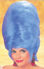Morris Costumes CA-54 Beehive Wig Blue