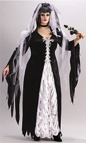 Funworld 5743 Bride Of Darkness Plus Size