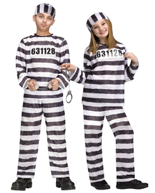 Funworld 8748LG Jailbird Child Large