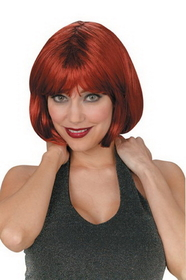 Funworld 92093AU Bob Short Wig Auburn