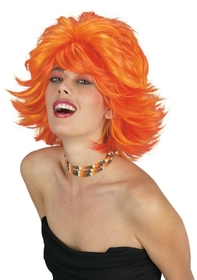 Funworld 92428RO Choppy Wig Red Orange